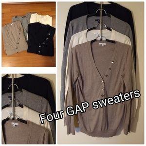 4 Gap tops